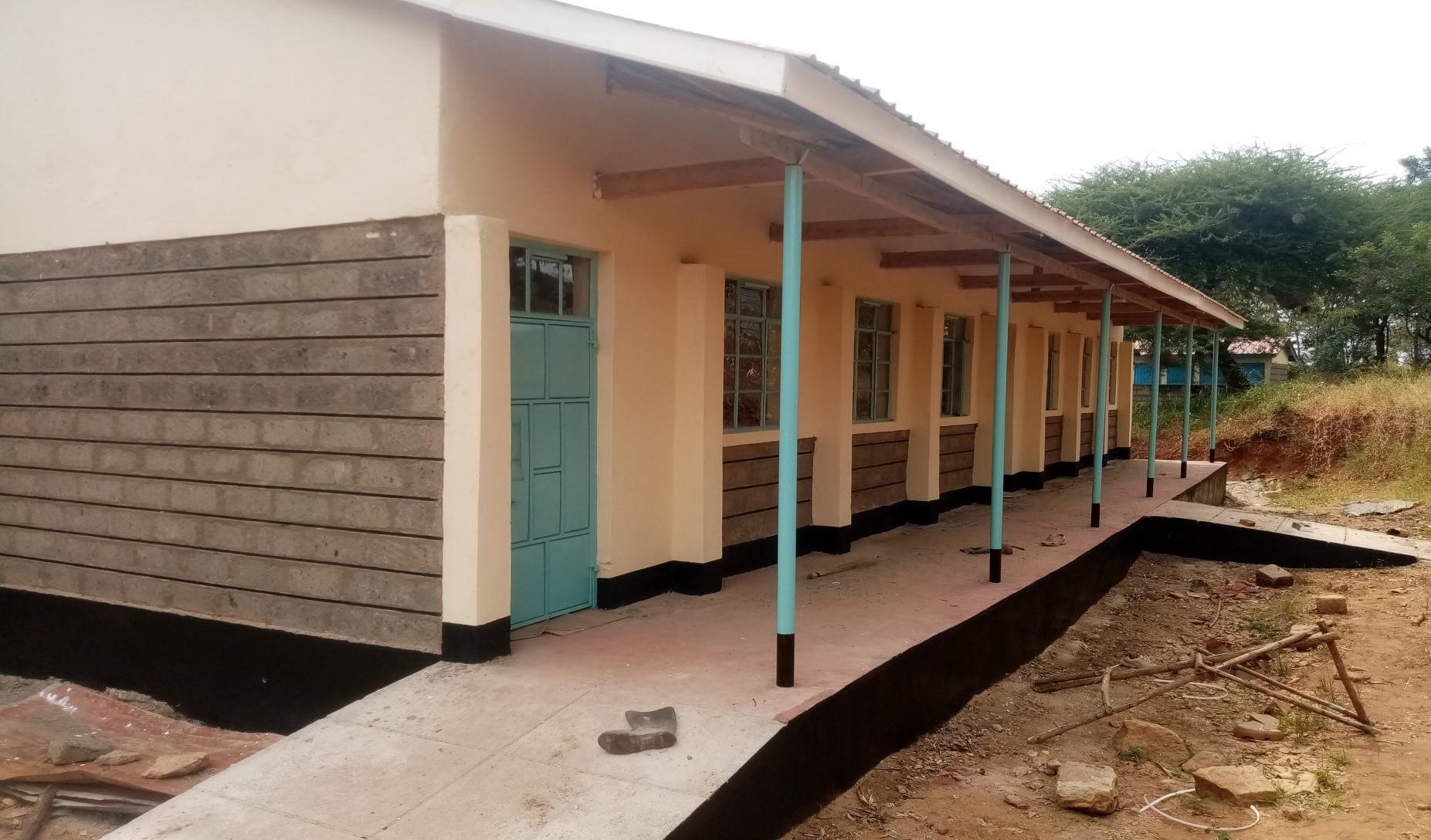 Kambusu Primary School-2No. Classrooms Construction