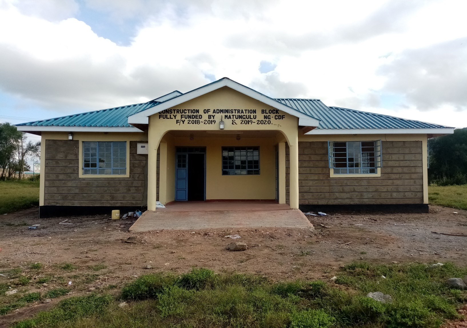 Kwa Mutu Secondary School- Completion of Administration Block